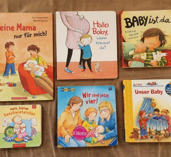 """""""Wir bekommen ein Baby"""" – Kinderbücher zum Leben mit einem neuen Geschwisterkind"""