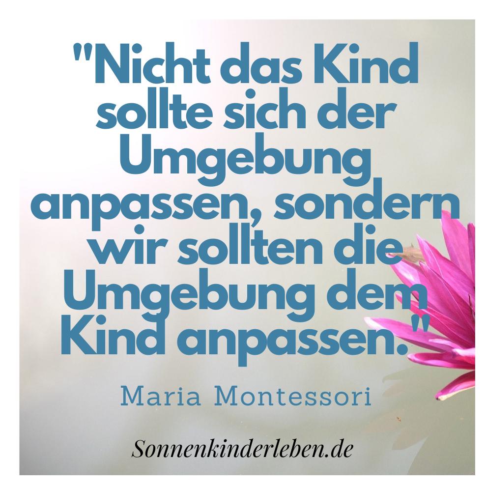Maria Montessori Zitate