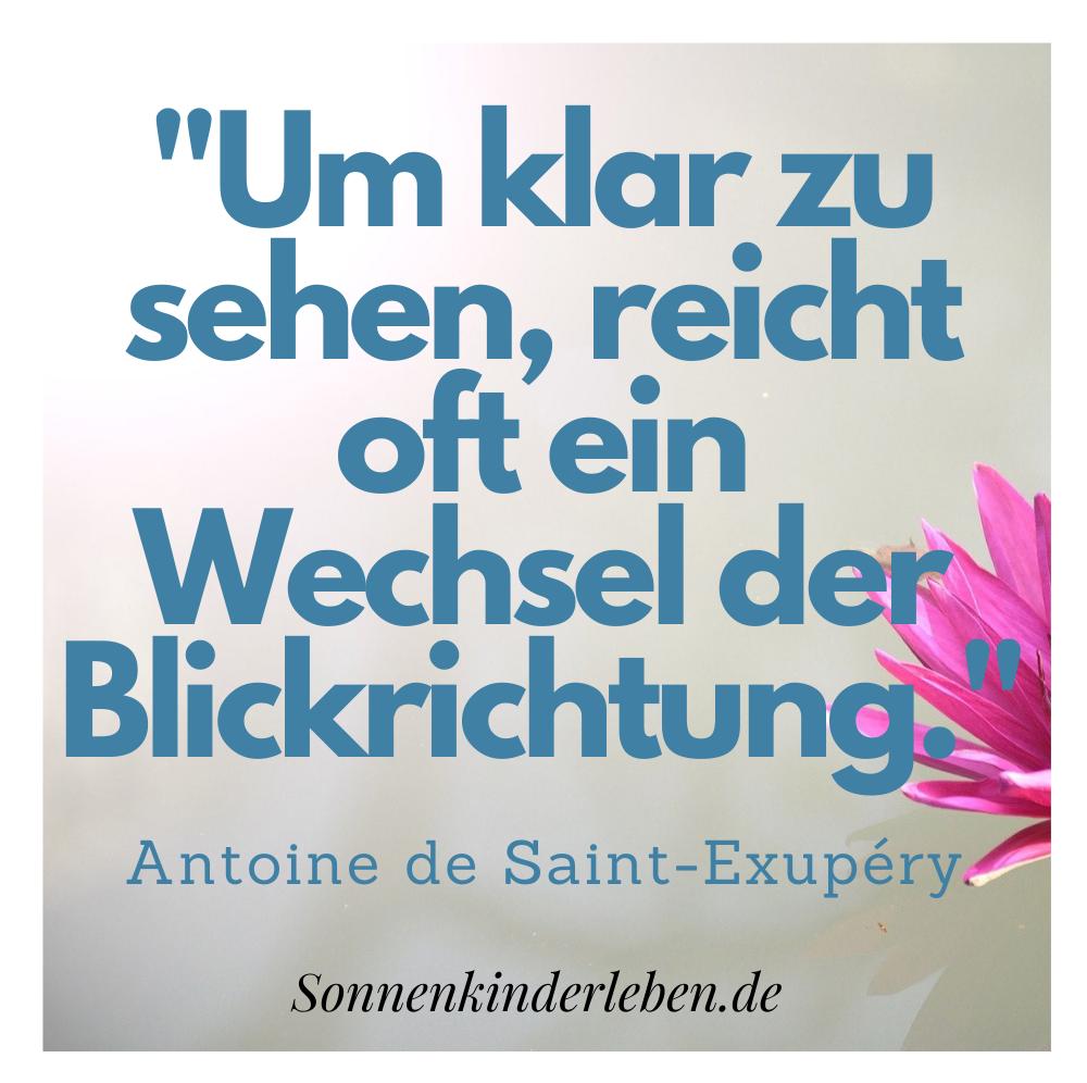 Die besten Zitate von Antoine de Saint-Exupéry